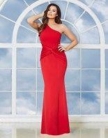 Jessica Wright One Shoulder Maxi Dress