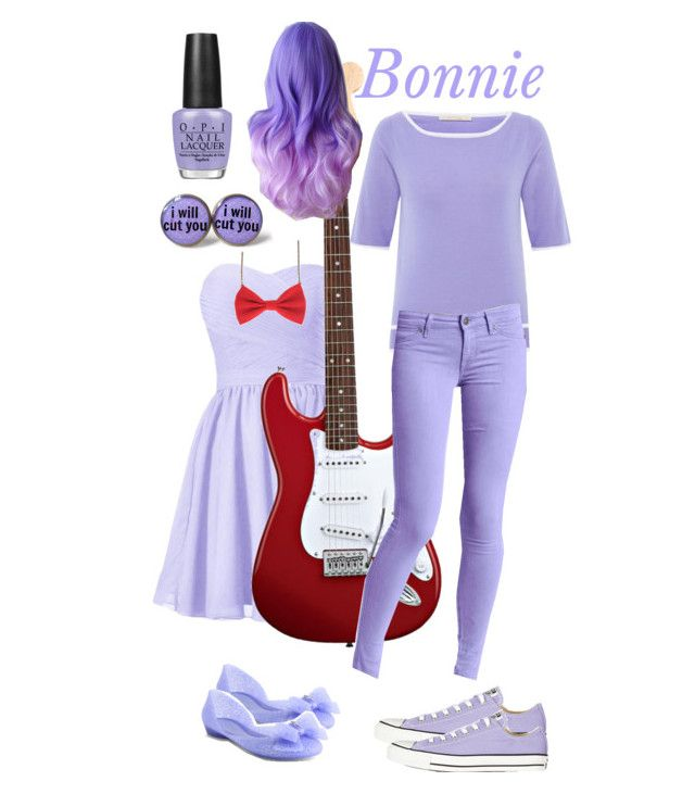 """""""FNAF- Bonnie"""" by living-in-a-small-world ❤ liked on Polyvore"""