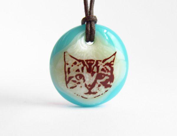 Young Cat Necklace - l e i l a c o o l s