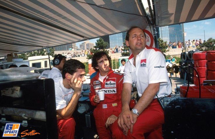 De meest bijzondere foto's van Ron Dennis bij McLaren - GPUpdate.net