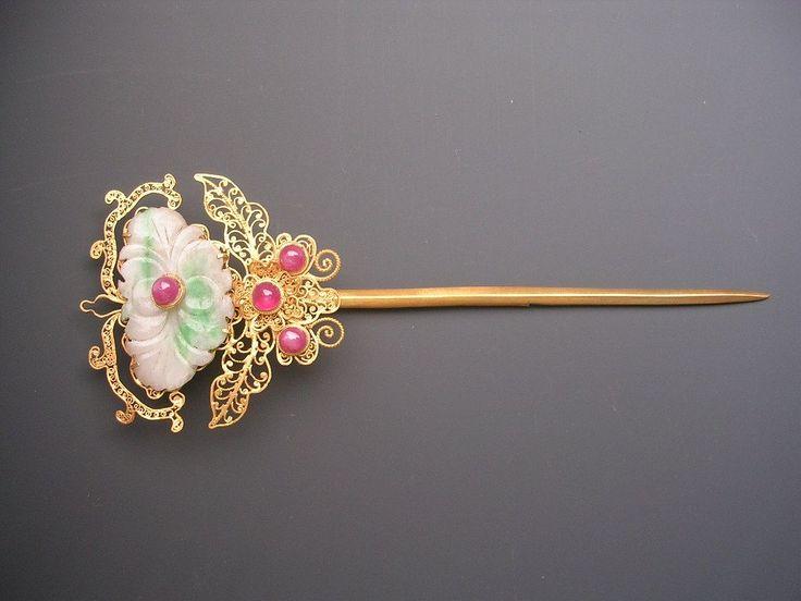 中国古典银钗 - Google Search