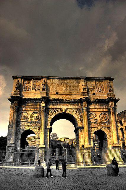 Arco di Costantino, Roma, province of Rome, Lazio region Italy
