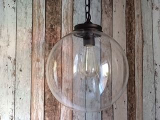 Mr Ralph - Glass Globe pendant 30cm, Pendants $169