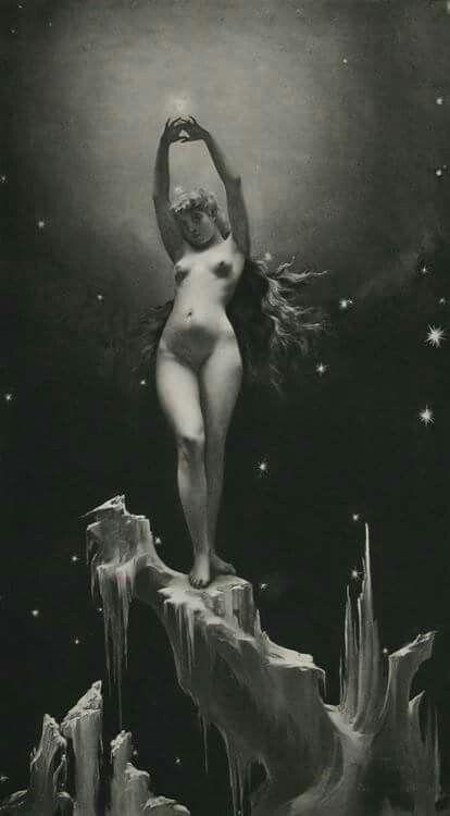 Luis Ricardo Falero. Étoile polaire