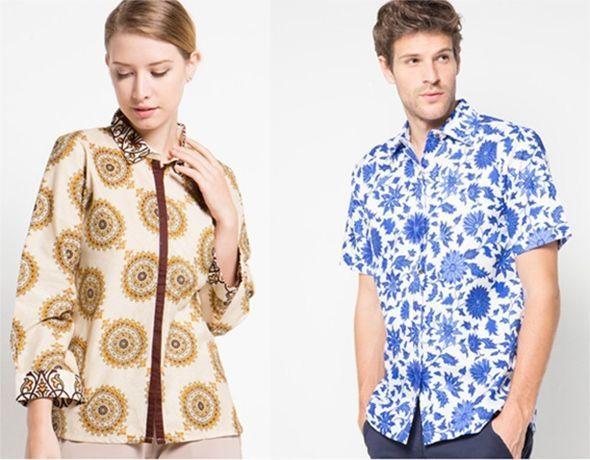 21+ Model Baju Batik Anak Muda Putra dan Putri Terbaru 2017