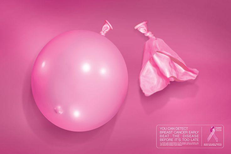 15 publicités pour sensibiliser au dépistage du cancer du sein !