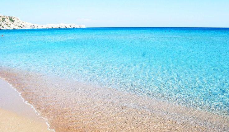 Tsambika beach, Rhodes island ~ Greece