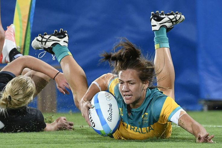 Australia Just Won The First Ever Women's Rugby Gold In Rio
