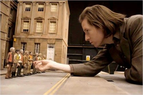 Wes-Anderson-NYTimes Fantastic Mr. Fox Miniature Movie Set. That would be such a awesome job to make miniatures and get paid for it!