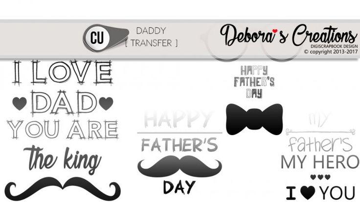 Daddy Transfer by Debora's Creations CU