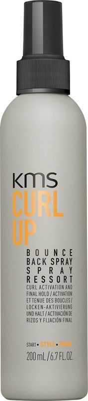 KMS California CURLUP Bounce Back Spray