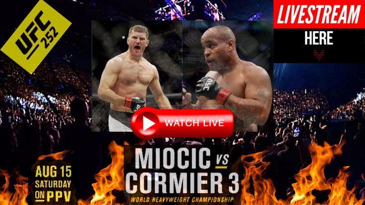 "[![official^/Live^stream]] ""UFC 252 Miocic vs. Cormier"