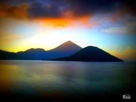 "sunrise at Ternate ""Maitara & Tidore"""