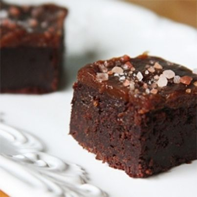 Sea Salt Caramel Brownies