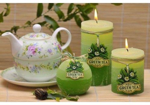 Jeśli zastanawiałeś się, co by się stało gdyby relaksujący zapach herbaty przenieść na cały dom - przestań! Po prostu zapal tą świetną świeczkę! :) Sprawdź na zrobswieczke.pl
