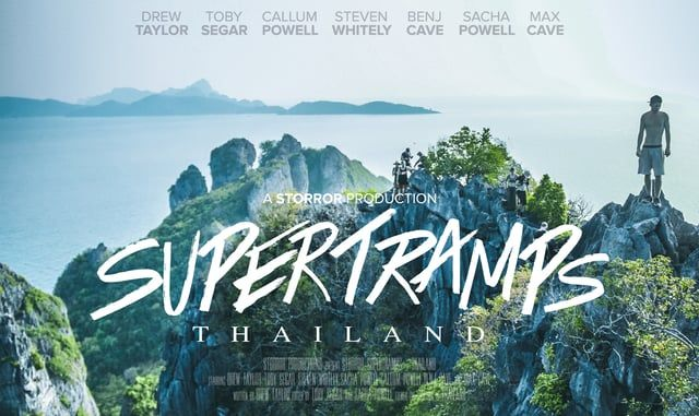 **CURRENTLY HALF PRICE** Storror Supertramps - Thailand is the first film of its…