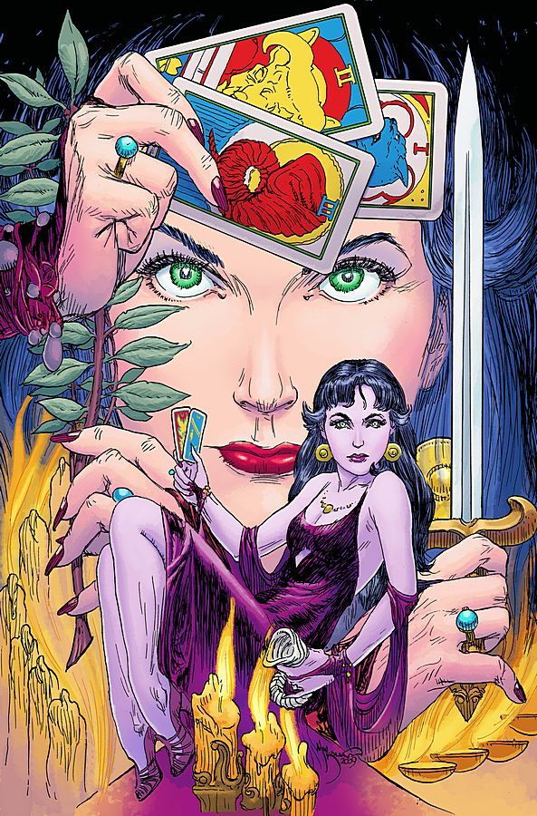 Madame Xanadu #13 by Michael Wm. Kaluta