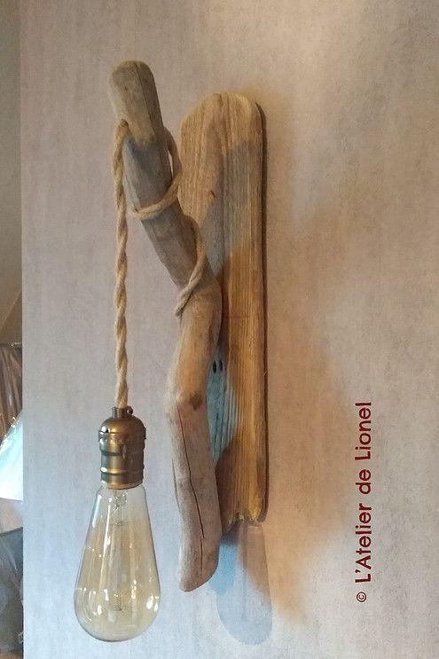 Dernières créations en bois flotté naturel