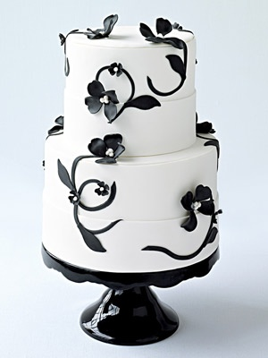 simply gorgeous gothic cake