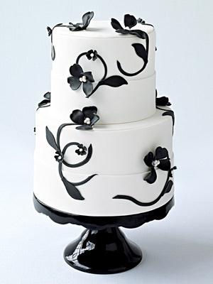 simply gorgeous gothic cake