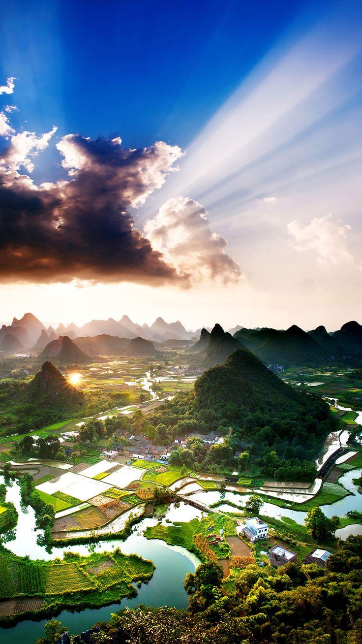 Yangshuo county, Guilin, Guangxi