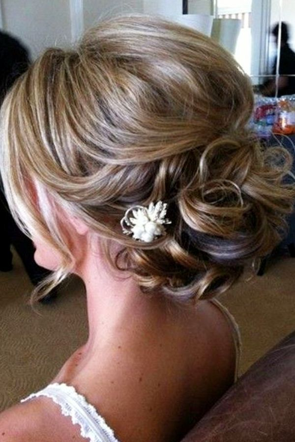 Wedding Updo Hairstyles For The Bride Or Bridesmaids New For 2020 Short Hairstyles Fine Short Hair Updo Updos For Medium Length Hair