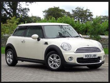 Car- Pepper White Mini One