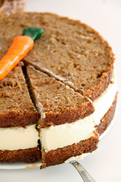Juniors Carrot Cheesecake Recipe
