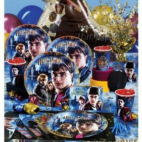 Harry Potter Themed Birthday Party Supplies & Decoration Ideas