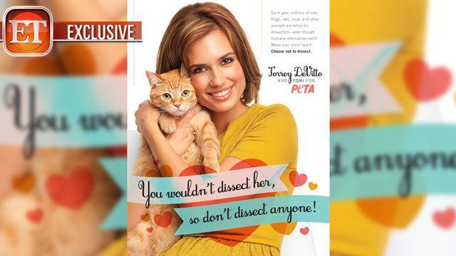 Torrey DeVitto's PETA Ad - Exclusive