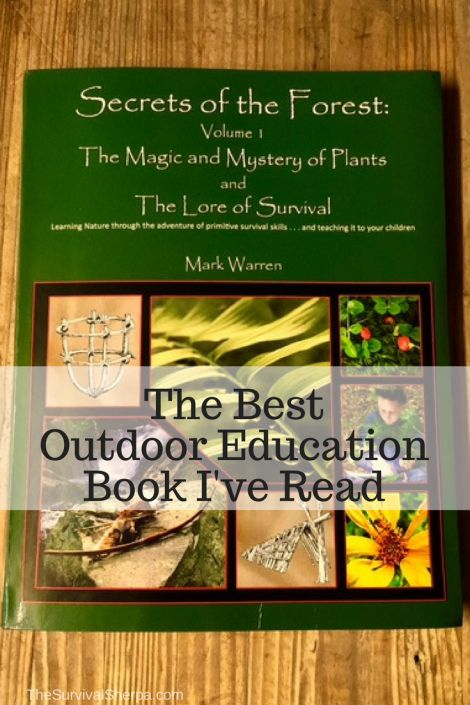 Secrets of the Forest- The Best Outdoor Education Book I've Read - TheSurvivalSherpa.com