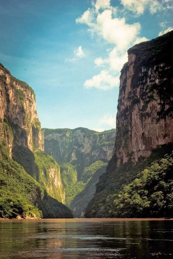 Caños del Sumidero, #MahCualliOhtli desea #Quetevayabien en #Chiapas