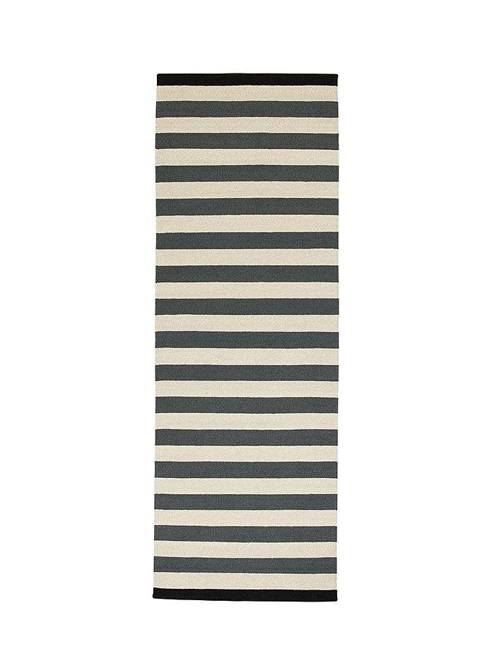 Läufer und Teppiche Nigella B 90 x L 250 cm, dunkelgrau/grau