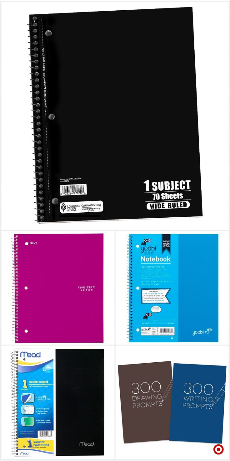 Shop Target for notebooks and journals you will love at great low prices. Free shipping on orders of $35+ or free same-day pick-up in store.