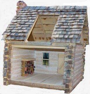 338 Best Miniature Log Cabins Images On Pinterest
