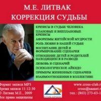 Аудиокнига Коррекция судьбы Михаил Литвак