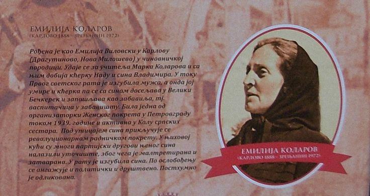 #EmilijaKolarov (1888-1972) /Izvor: Izložba na trgu/ #Zrenjanin https://flii.by/file/rmgp4823xno/