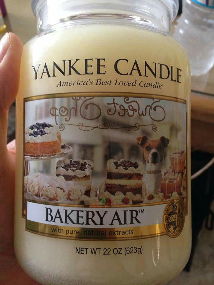 Bakery Air ~ Yankee Candle Spring 2016 USA