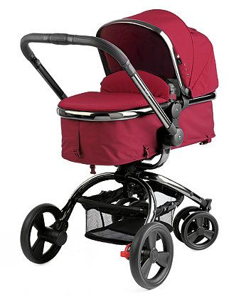 Mothercare Orb Pram and Pushchair- Berry