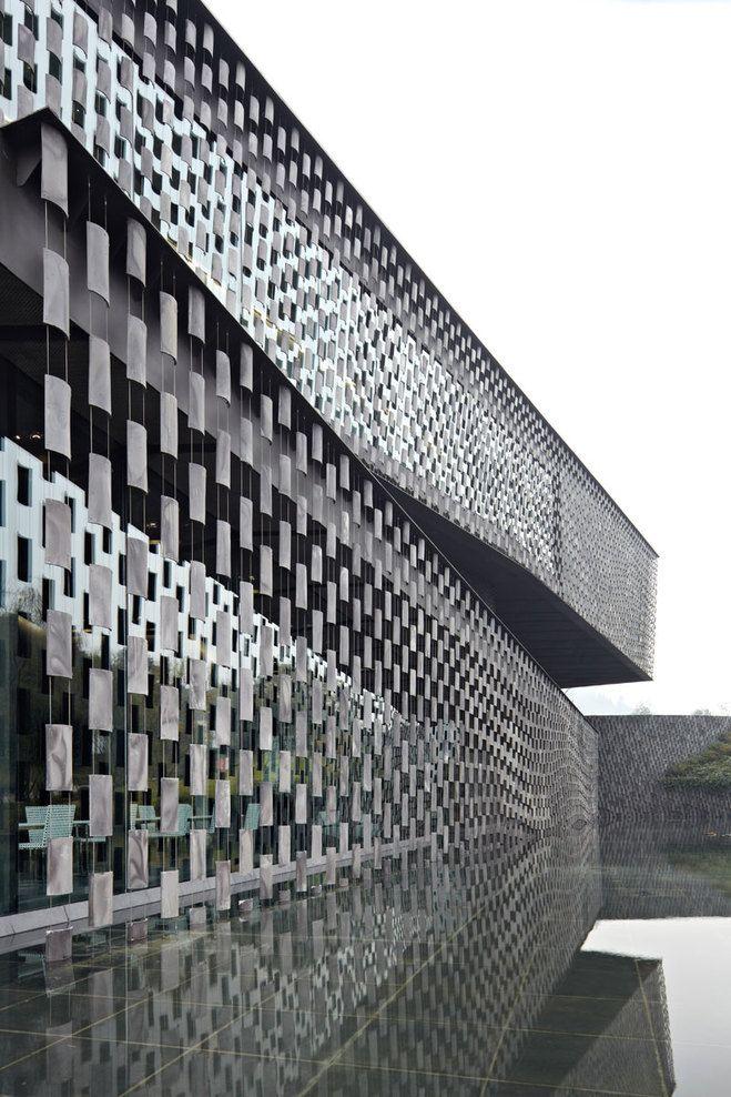 Architect KENGO KUMA & ASSOCIATES - Xinjin Zhi Museum - Klink