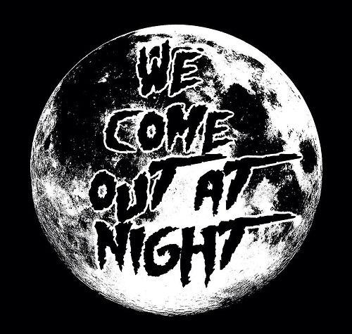 scary Black and White creepy horror follow me Full Moon moon black night dark nightmare vampire darkness goth gothic pastel goth at night