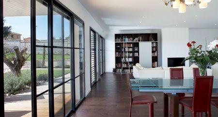 1000 ideas about baie vitr e alu on pinterest baie for Baies vitrees style atelier