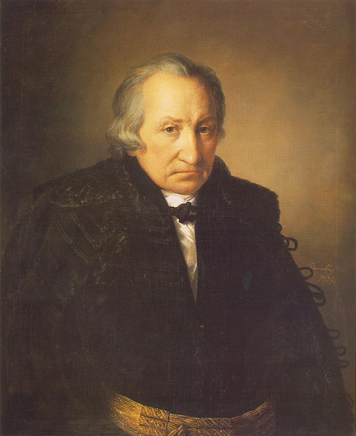 Portrait of Mr. Konkoly  by Miklós Barabás
