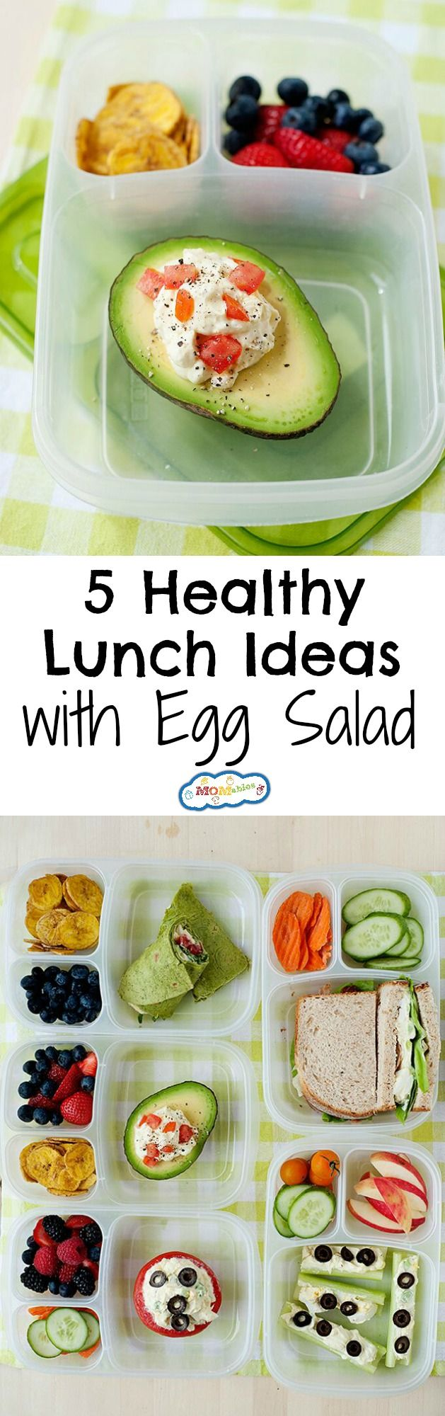 517 best office lunch images on pinterest clean eating meals healthy school and office lunch ideas with egg salad forumfinder Gallery