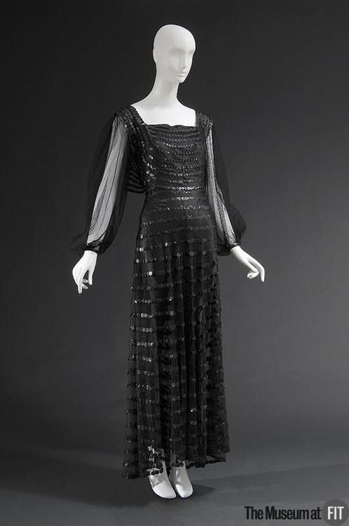 Evening Dress - Jeanne Lanvin, 1935 - The Museum at FIT