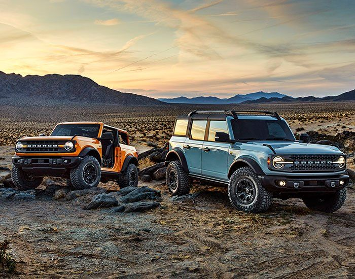 Retro Inspired 2021 Ford Bronco Features Detachable Doors And Roof Panels In 2020 Ford Bronco Bronco Suv