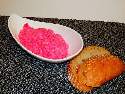 MAKE-FOOD: Rajčatový salát s řepou