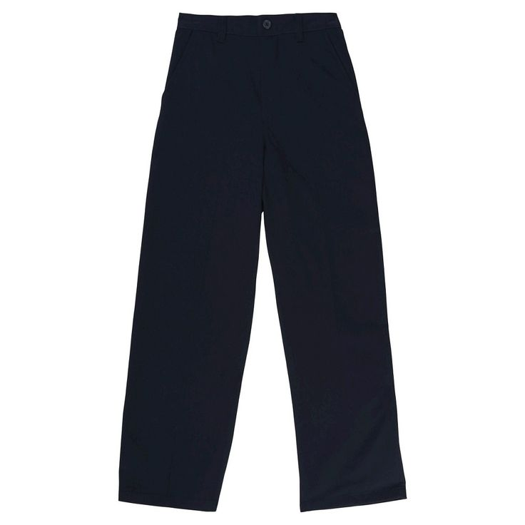 French Toast Boys' Pull on Twill Pant 10 - Navy (Blue)