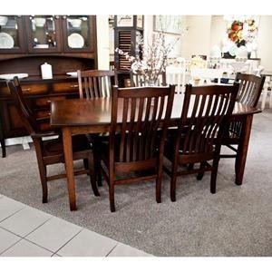 Nebraska Furniture Mart Palettes By Winesburg 7 Piece Dining Set