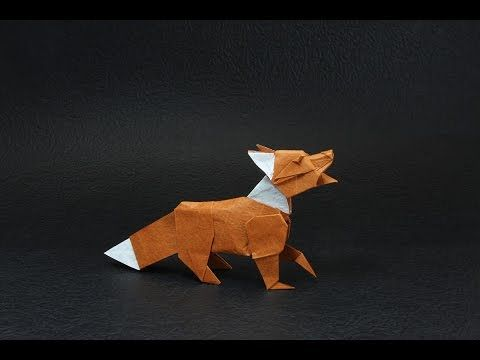 Origami fox by Quentin Trollip: Another tutorial! This is the tutorial of the amazing fox by Quentin Trollip! You can find diagrams for this model in the book 'Works of Quentin Trollip' by OrigamiHouse. You will need a quite big paper I advise you to use at least 30x30cm but you can also use 35x35cm that's the size I'm using in the video above. Don't forget subscribing this channel: https://www.youtube.com/channel/UC4uK...  This is a complex model youneed to be a bit more experienced with…